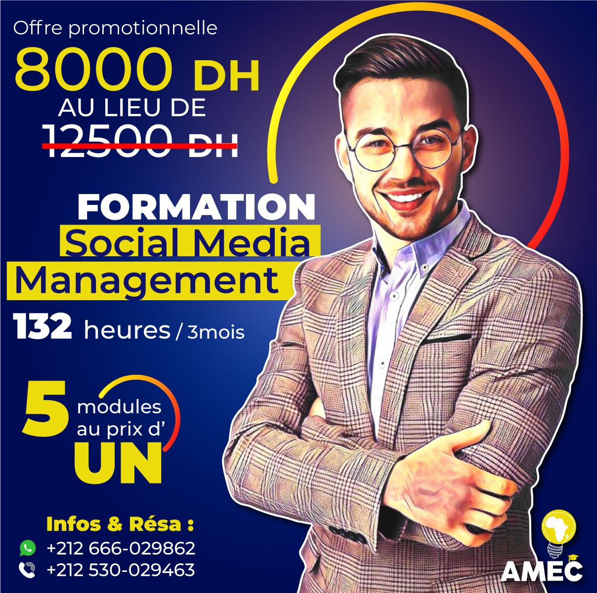 Formation Social Media Management